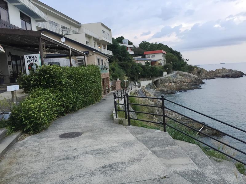 赤穂御崎の遊歩道