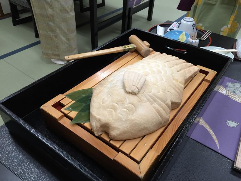 鯛の塩釜焼き(小)