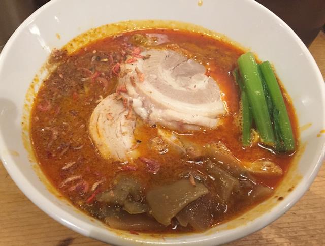 中野「ほおずき」 行列の出来る担々麺を食べてきた